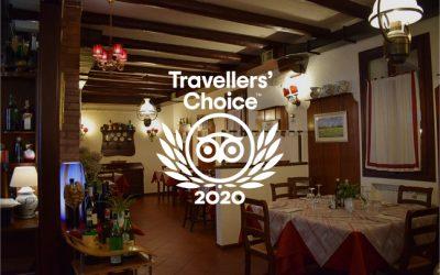 Abbiamo vinto il premio Travellers' Choice 2020 di TripAdvisor